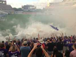 22. Sit in the stands with the Ruckus during an Orlando City Soccer game at Disney's ESPN Wide World of Sports.TIP: Catch the league while they are at this venue to get up close and personal before they relocate to the Citrus Bowl and then their new stadium.