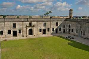 12. Castillo de San Marcos, located in the country's oldest city, St. Augustine, is a stone monument that represents the history of America. Visitors can take a walk through the fort and get a close-up look at the exhibits. Park rangers give talks throughout the day on the history and culture of the park. 1 S Castillo Dr, St Augustine, Fla. 32084Admission is $7 for ages 16 and up and free for 15 and under. It's open from 8:45 a.m. to 5:15 p.m. every day of the year, except Christmas.