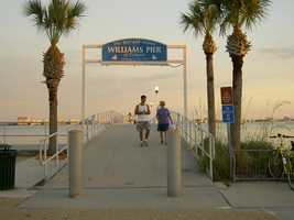 """10.Gulfport, Fla. is known for its variety of dining experiences. It landed one of the six finalists in the Rand McNally """"Best of the Road"""" out of 600 competing towns for """"Best of Food.""""See Gulport dining establishmentsYou can enjoy a meal and then take a walk on the fishing pier on the Boca Ciega Bay, or enjoy the area's shops."""
