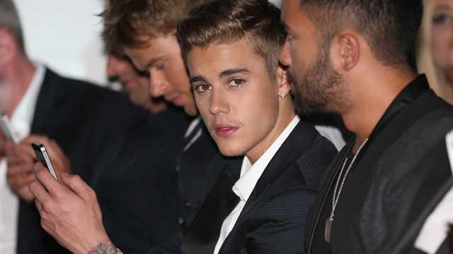 Justin Bieber, March 2014