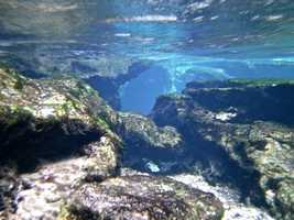 16.Visit Kelly Park/ Rock Springsin Apopka for a day of cooling off and relaxation. The centerpiece of Kelly Park is the crystal clear spring that bubbles up from a cleft in a rock before pouring out into the stream.400 E Kelly Park Rd, Apopka, Fla. 32712