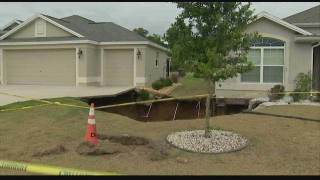 Researchers at the University of Central Florida are trying to come up with a way to predict a sinkhole before it happens.