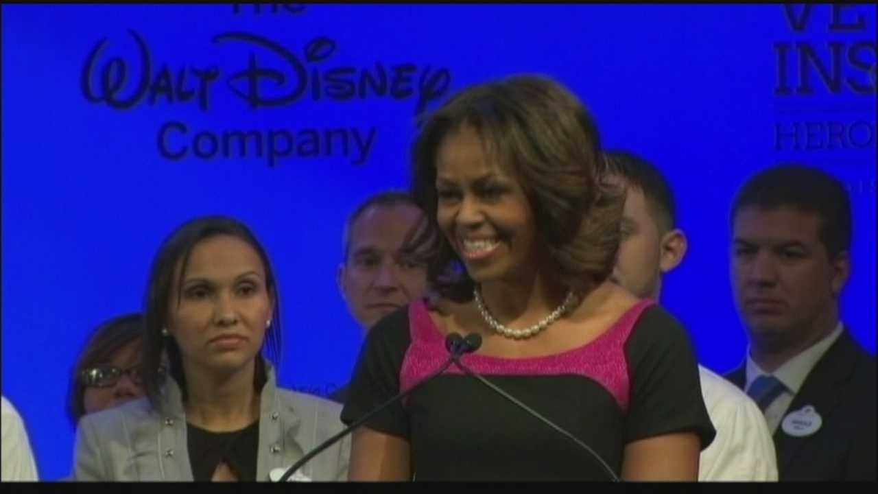 Michelle Obama at Disney.jpg