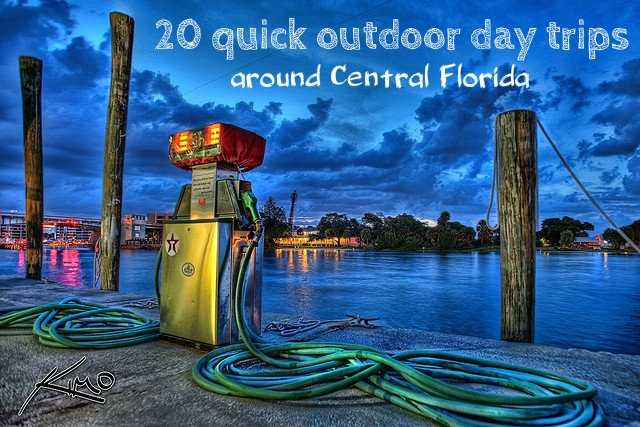 "Fill your tank up with gas and take a day trip to one of these ""outdoorsy"" Central Florida destinations."