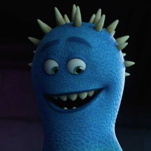 Frank McCay in the movie Monsters University.