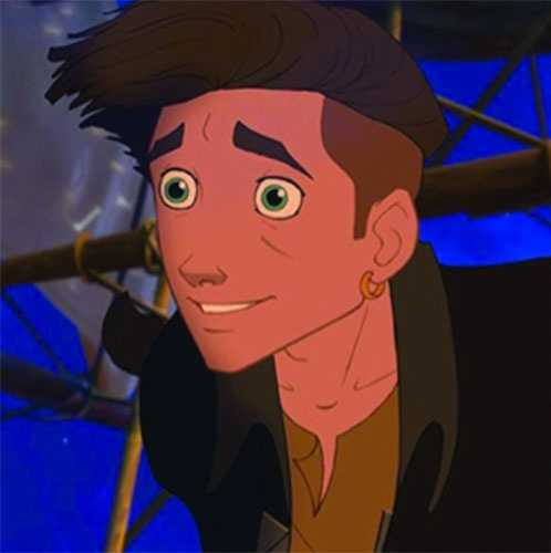 Jim Hawkins from the movie Treasure Planet.