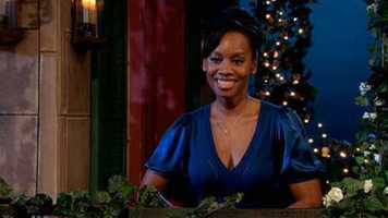 Anika Noni Rose voices Tiana from the movie the Princess and the Frog.
