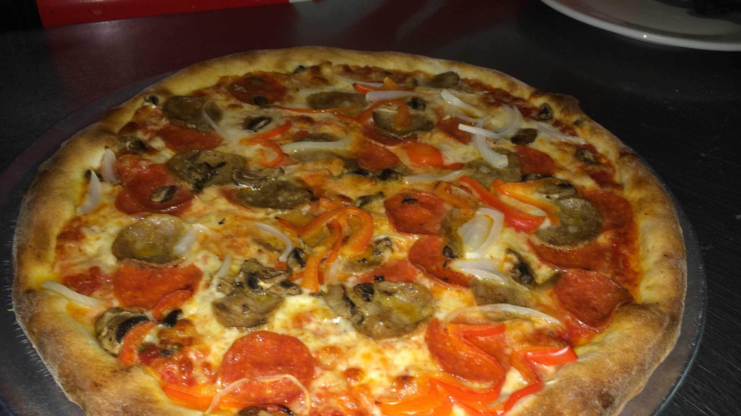 Goodfella's Special - pepperoni, sausage, mushrooms, onions and red peppers