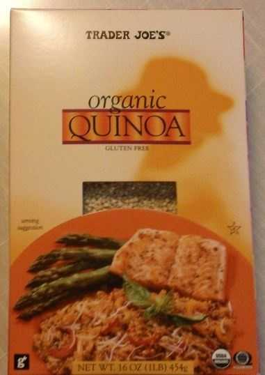 Quinoa was rated a best buy at Trader Joe's. It was $2 less per pound at Trader Joe's than competing stores.