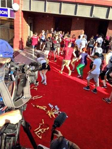 First fans ran into Diagon Alley