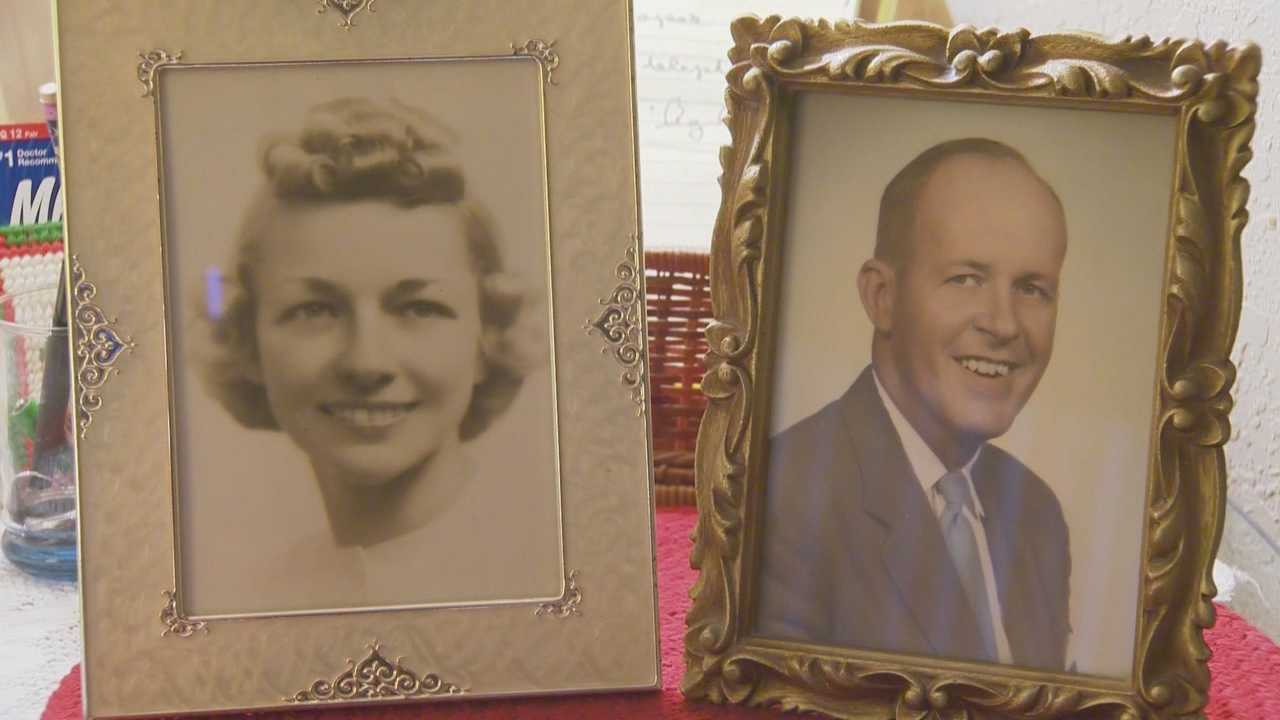 A Central Florida couple, married since 1942, celebrates their anniversary while reminiscing on what's kept them together so long.