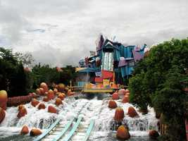 3. Universal's Islands of Adventure -- Orlando, Fla.