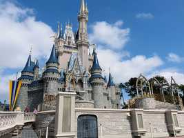 4. Disney's Magic Kingdom -- Orlando, Fla.