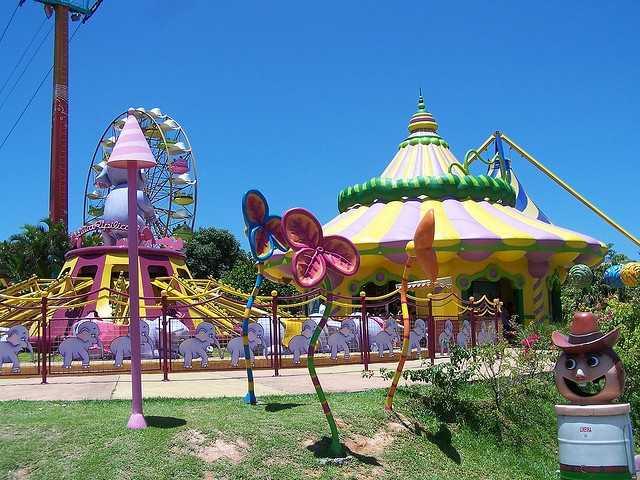 6. Beto Carrero World -- Penha, Brazil
