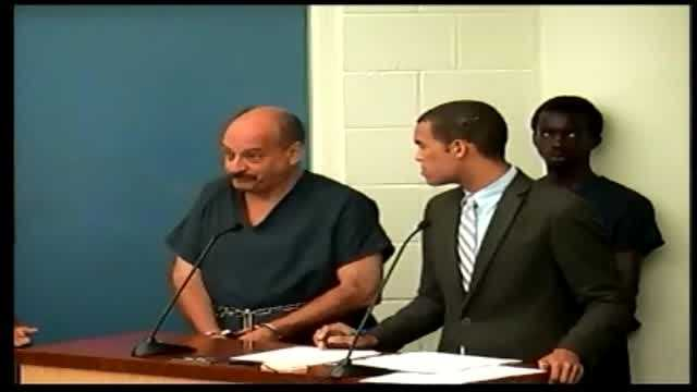 Raw video: Stabbing suspect says he doesn't want lawyer
