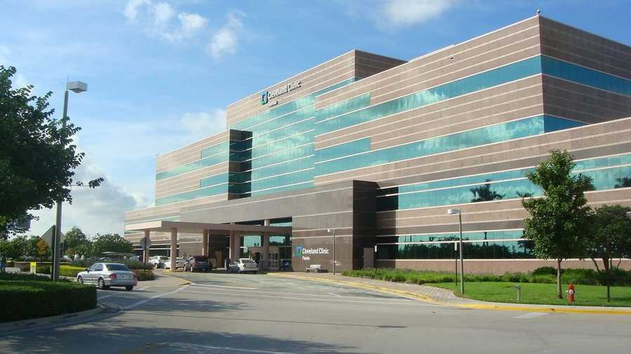 13. Cleveland Clinic Florida in Weston