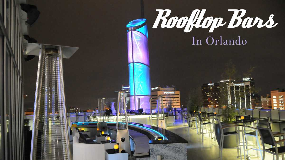 Get A Skyline View At These Orlando Rooftop Bars