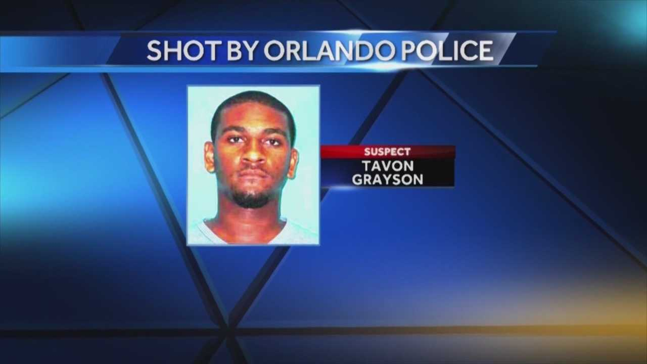 Man shot by police in serious condition
