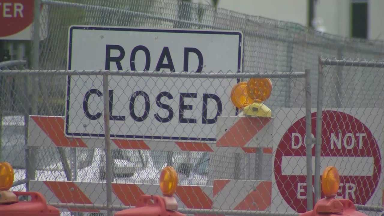 img-Construction causes road closures traffic in Downtown Orlando