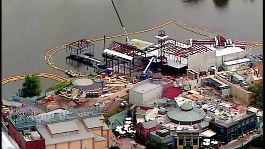 Once completed, Disney Springs will have 150 restaurants, shops and venues.