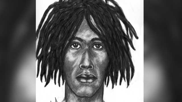 Composite sketch of suspected robber