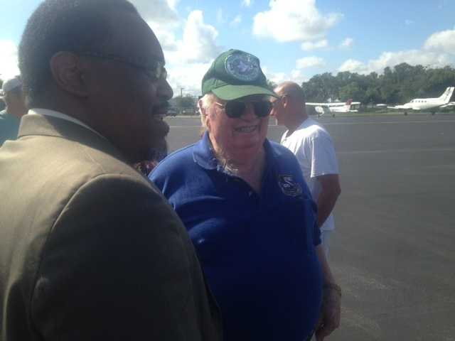 Lt. Col. Joe Kittinger flew the F-4 fighter jet in the Vietnam war.