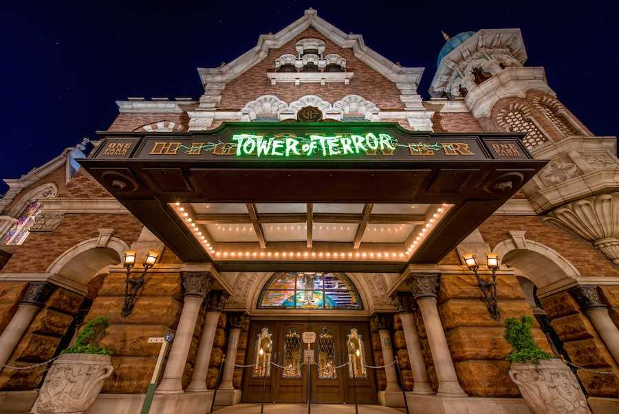 19. There are now four Tower of Terror attractions at Disney Parks, each a different versions Disney's Hollywood Studios, Disney California's Adventure Park, Walt Disney Studios Park (Paris) and Tokyo DisneySea.