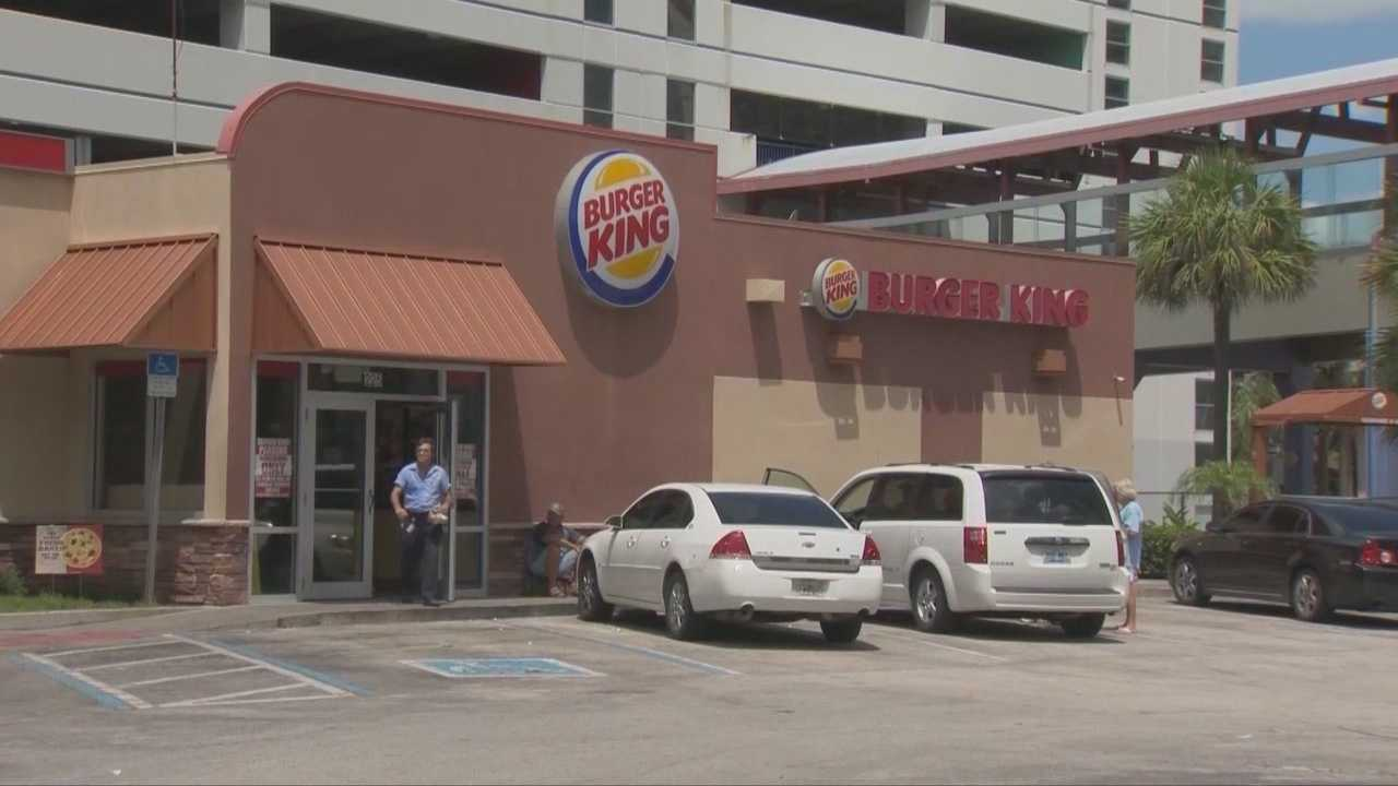 Police in Daytona Beach said they're owed thousands of dollars for off-duty security work at Burger King.