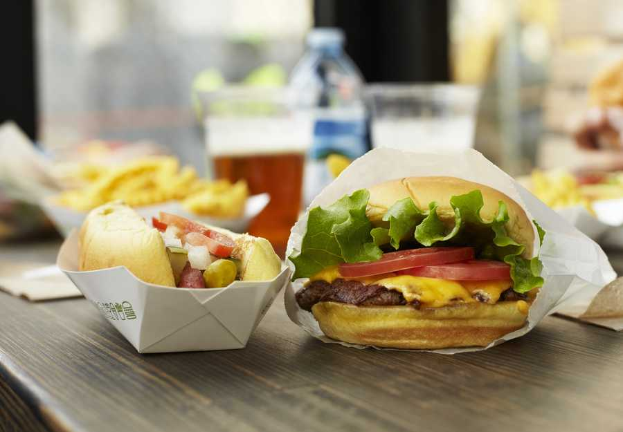 5.The Madison Square Park location has the Shack Cam, a camera that shows the line at the restaurant at any time during the day.