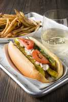 2. When Shake Shack was just a cart in NYC it only served hot dogs and lemonade. The burgers and custards came three years later.