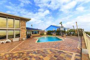 Entertain yourself and guests on the large pool patio area.