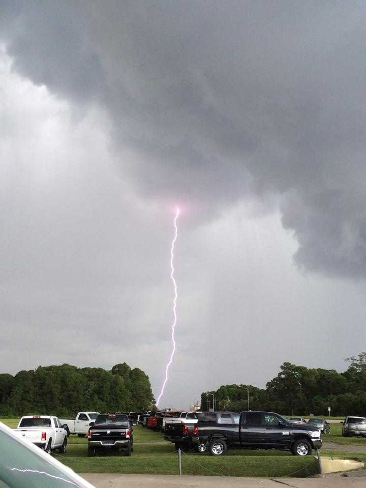Lightning in Titusville