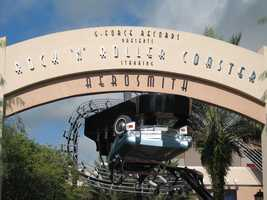 1. The attraction's grand opening on July 29, 1999 featured a dedication ceremony with Aerosmith.