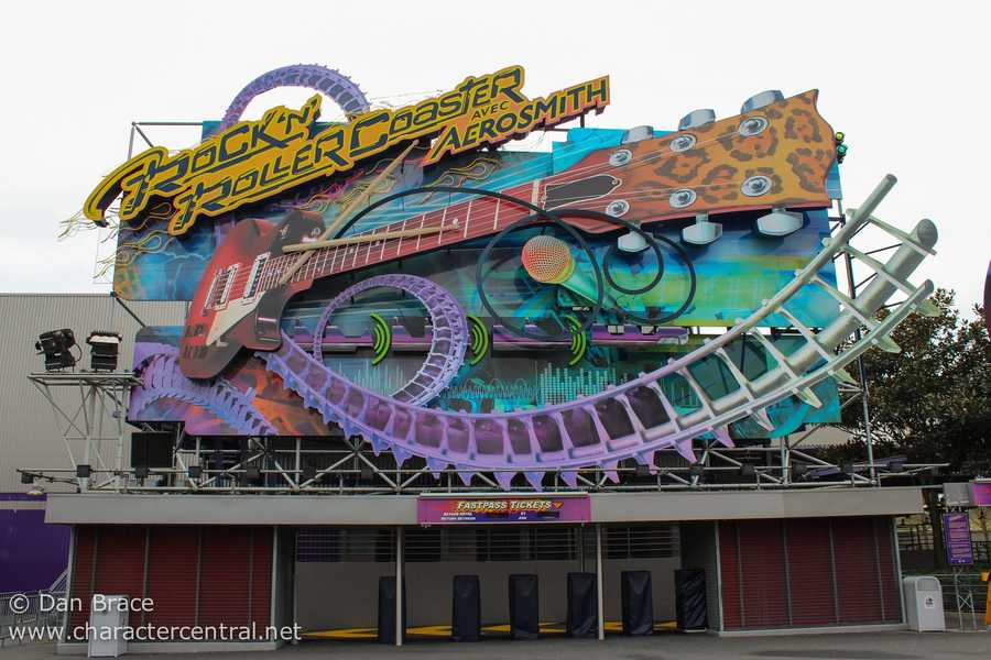 "15. Rock 'n' Roller Coaster opened at Walt Disney Studios Park (Paris) in 2002. There, it's called ""Rock 'n' Roller Coaster avec Aerosmith."""