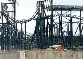 14. The attraction was the first coaster at Walt Disney World Resort to feature multiple inversions.