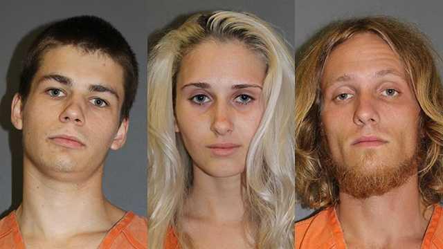 trio of burglars