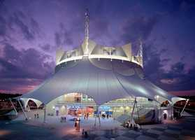 Cirque du Soleil comes to life twice nightly, five days a week with La Nouba.