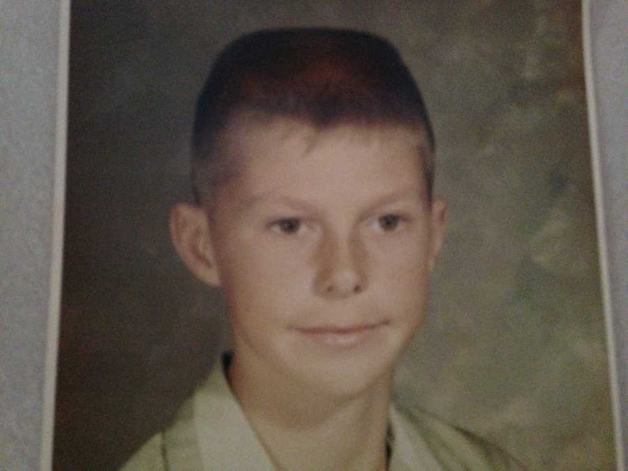 This young man was just thrilled to be entering the 6th grade. Can you guess who it is?
