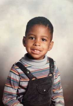 He has since traded in the overalls for suspenders. Who is this strapping young man?
