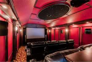 12-seat home theater.