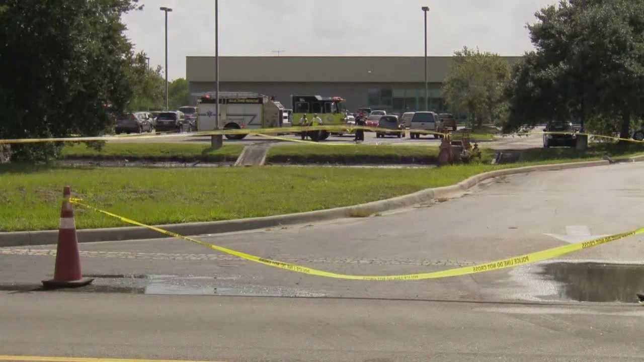 A man died after crashing his truck into a retention pond at Orlando International Airport on Monday, according to the Greater Orlando Aviation Authority.