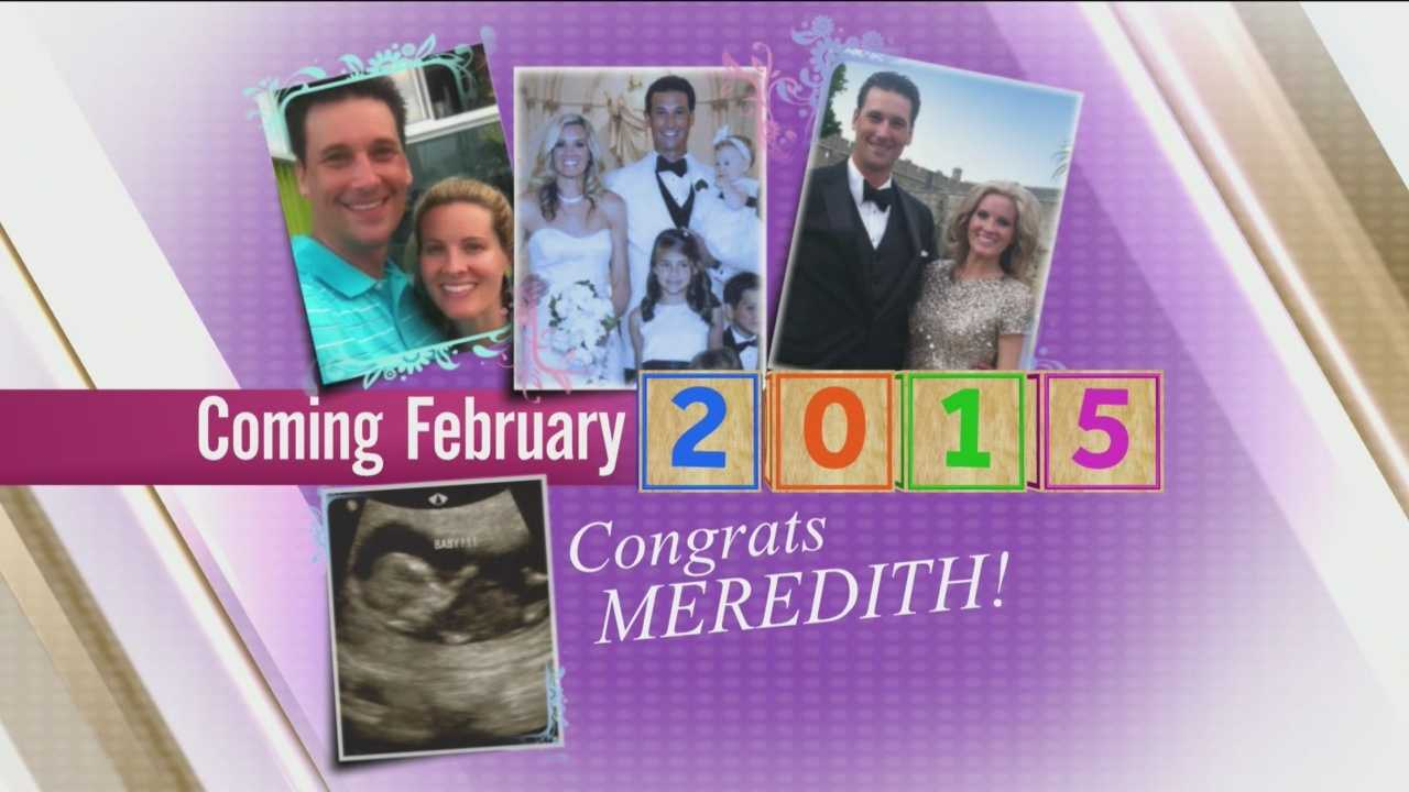 Watch as WESH 2's Meredith McDonough announces some very special news.