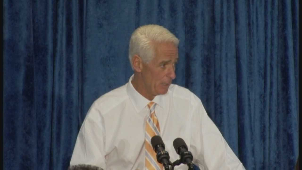 The game plan for Charlie Crist is to try and persuade voters that he's in their corner when it comes to education, health care and the environment.