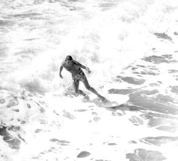 1977: Surfer at Cocoa Beach