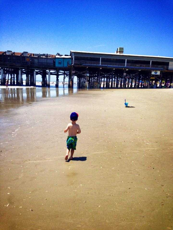 2013: Running to the Cocoa Beach Pier