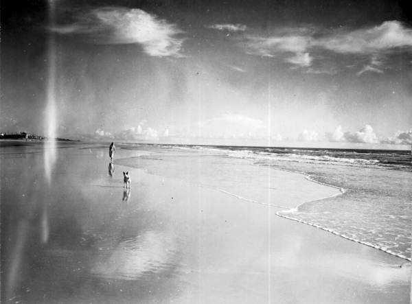 1946: The sunrise at Coronado Beach, now New Smyrna Beach
