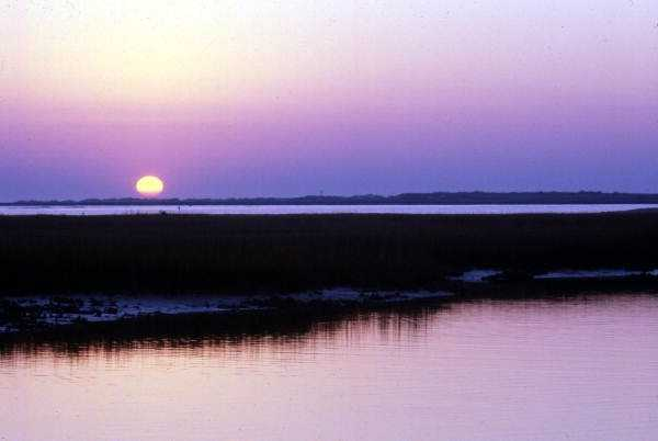 1978: A view of the sunrise in New Smyrna Beach