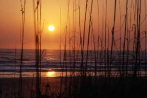 1978: A view of the coastal sunrise in New Smyrna Beach