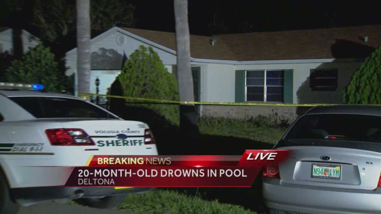 A 20-month-old child drowned in a Deltona pool on Monday night,