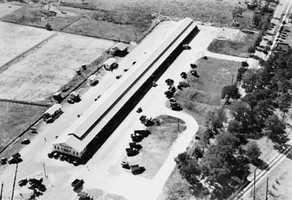 1936: Aerial view of the State Farmer's Market in Sanford